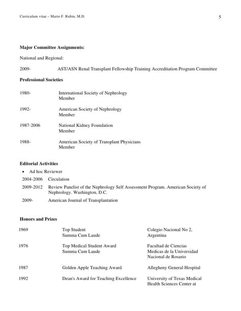 harvard school curriculum vitae date prepared 10