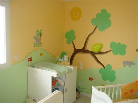 chambre bébé jungle photo chambre bebe jungle