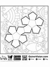 Quiver Shapes Coloring Fun Pages Votes sketch template