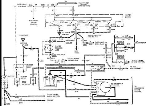 ford  starter solenoid wiring diagram  wiring