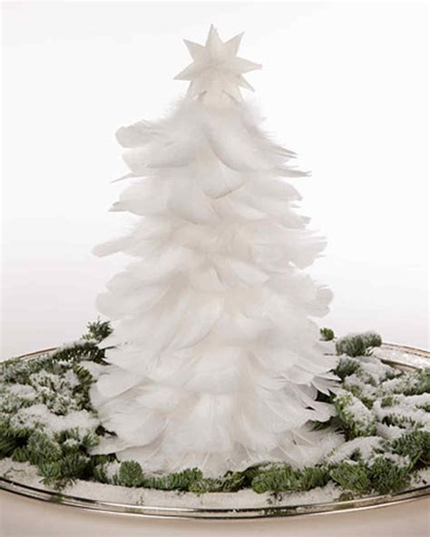 Weihnachtsbaum Aus Federn by Feather Tree Martha Stewart
