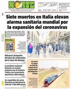 Peri U00f3dico Diario Norte  Argentina   Peri U00f3dicos De Argentina  Edici U00f3n De Mi U00e9rcoles  26 De Febrero