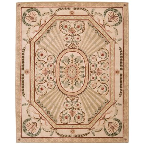 overstock runner rugs nourison overstock versailles palace blush 8 ft x 11 ft
