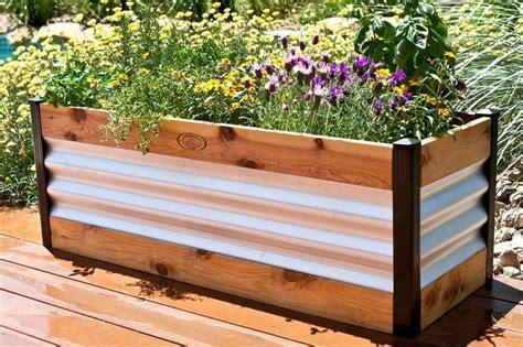 raisedbedscom modern raised bed garden planter