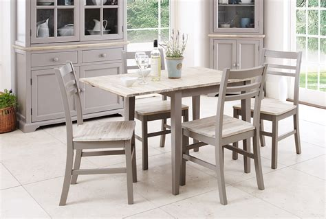 extendable square dining table blakeney dove grey