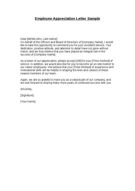 appreciation letter  boss ideas  pinterest