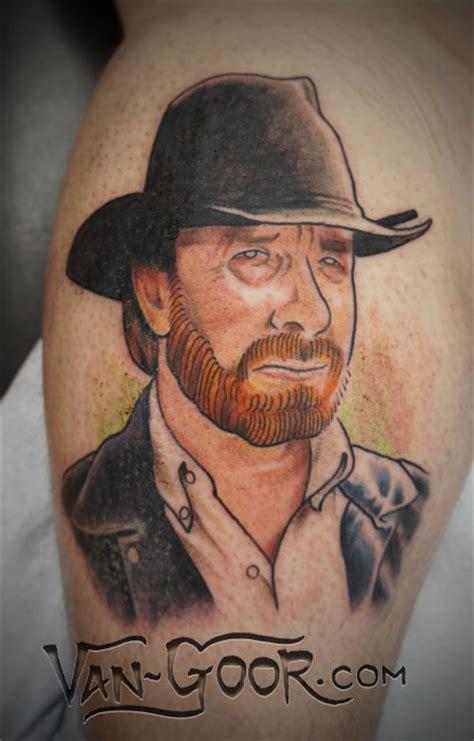 chuck norris tattoo chuck norris by vangoor on deviantart