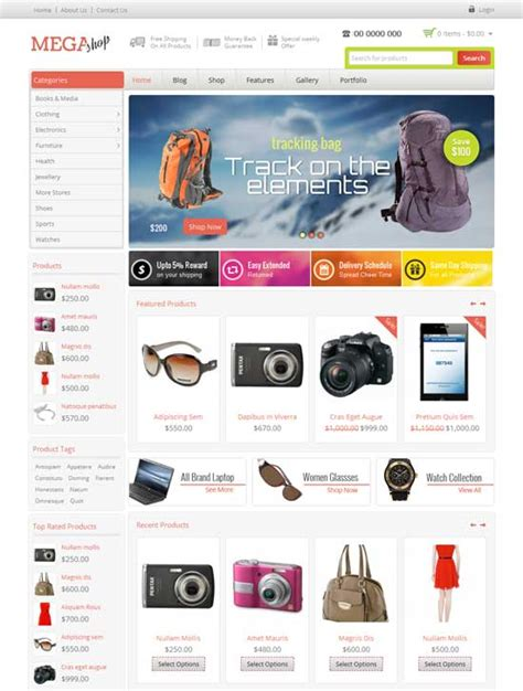 ecommerce wordpress themes  freshdesignweb