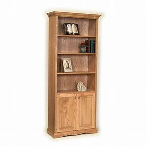 """78""""h Bookcases with Doors"""