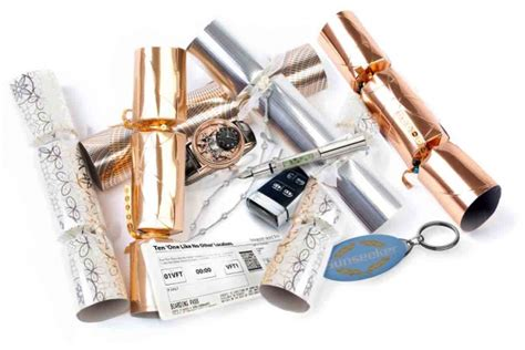 the world s most expensive christmas cracker set