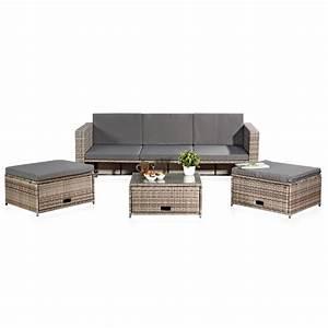 Gartenmöbel Sitzgruppe Rattan Lounge : rattan lounge grau relaxsessel sitzgruppe lounge sofa liege gartenm bel sessel ebay ~ Sanjose-hotels-ca.com Haus und Dekorationen