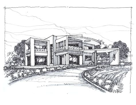Modernes Haus Zeichnung by Sketches Of Modern Houses Search Things To Draw