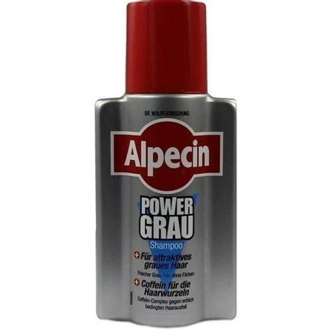 alpecin power grau shampoo  ml pzn  besamexde