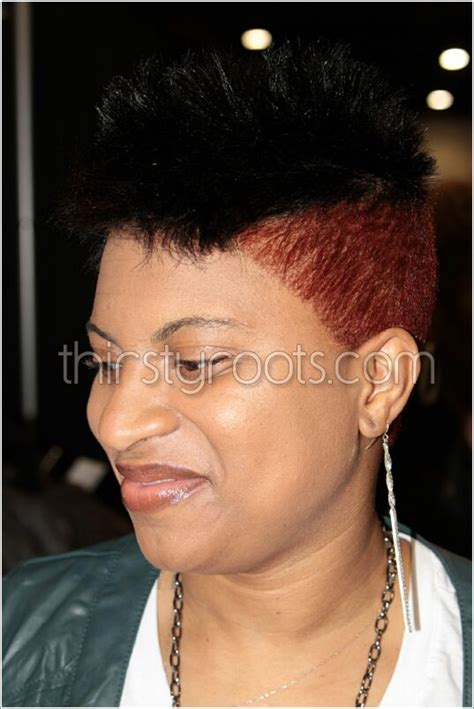 maintaining short relaxed hair