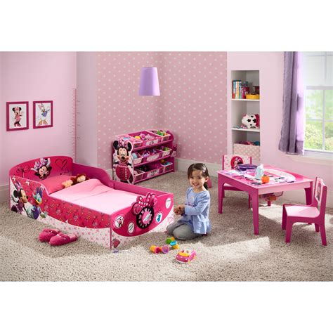 Delta Minnie Mouse Toddler Bed by Delta Children Minnie Mouse Toddler Bed Reviews Wayfair