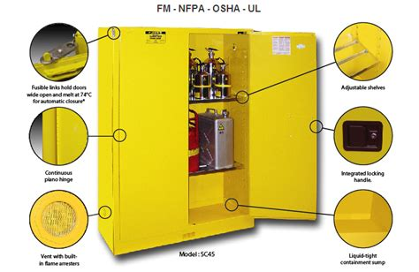 safety cabinets for flammable products safety cabinets