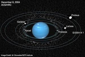 "Archival Hubble Images Reveal Neptune's ""Lost"" Inner Moon ..."