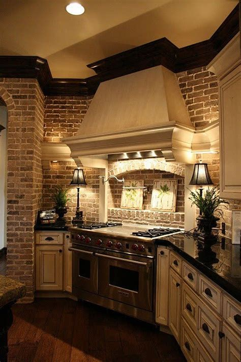 kitchen with brick 74 stylish kitchens with brick walls and ceilings digsdigs