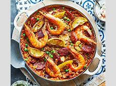 Paella in the oven recipe BBC Good Food