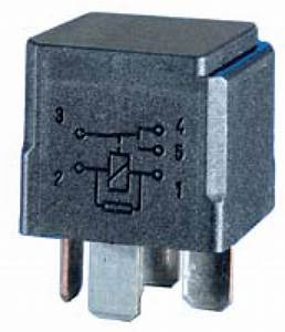 Hl87530 Hella 12v 20  40a Mini Relay  Spdt With Resistor  High Temperature