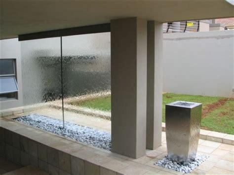 home waterfall wall 49 amazing outdoor water walls for your backyard digsdigs