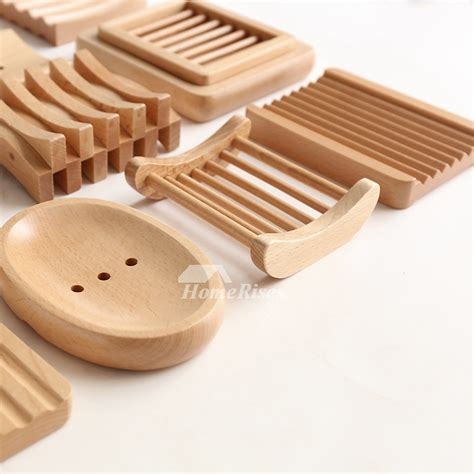 mus simple japanese style wooden soap dish
