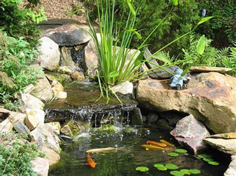 outdoor fish ponds waterfall in garden fish pond gardening pinterest