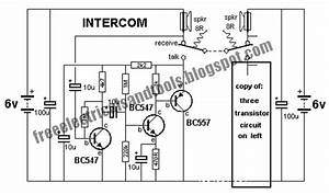 Wiring Free  Intercom Circuit