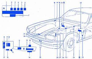 Jaguar Xjs 1984 Front Fuse Box  Block Circuit Breaker