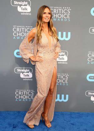 Heidi Klum Critics Choice Awards Santa Monica