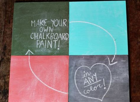 How To Make A Chalkboard In Any Color You'd Like (photos) Clear Plastic Bottle Folding Lawn Chairs Japanese Model Companies 6 Oz Cups With Lids Wall Shelves Engagement Rings Polarized Film Green