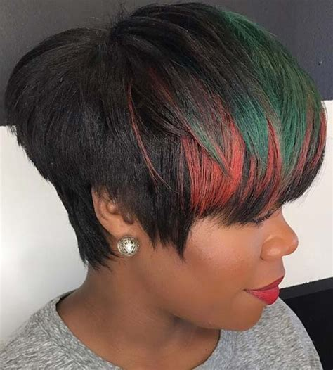 Short Hairstyles For Black Women Stayglam
