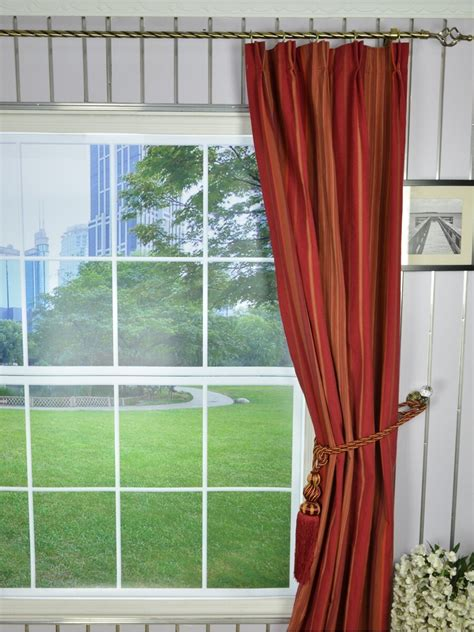 Ready Made Pinch Pleat Drapes - 2016 high quality striped ready made pinch pleat