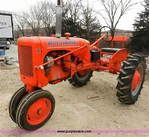 1948 Allis Chalmers C Tractor