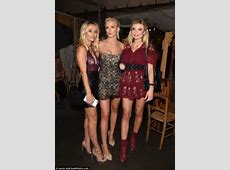 MIC girls Georgia, Tiffany and Olivia enjoy night out