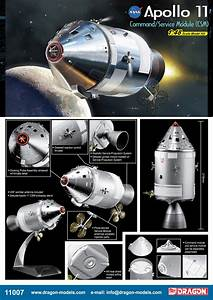 Dragon 1:48 Apollo Command Service Module - collectSPACE ...