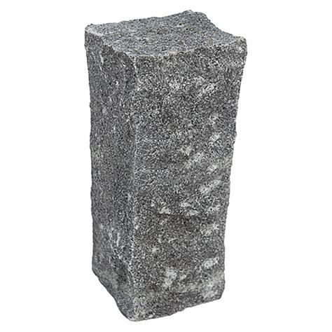 Granitpalisade G 654 (anthrazit, 10 X 10 X 25 Cm