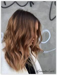 Ombré Hair Marron Caramel : modele de coiffure avec meches ~ Farleysfitness.com Idées de Décoration
