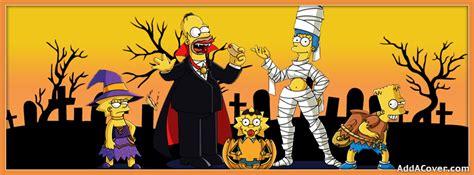 simpsons halloween facebook covers simpsons halloween fb