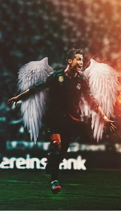 Ronaldo Cristiano Cr7 Wallpapers Madrid Futebol Parede