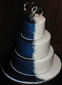 3 Tier Wedding Cake Winter Theme - Wedding Cake CAKE