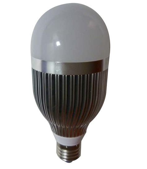 china e27 10w silver high heat dissipation led bulb l