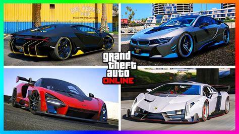 top   super cars  gta  updated  youtube