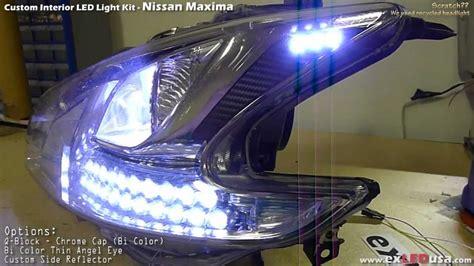 exledusa nissan maxima led custom headlight