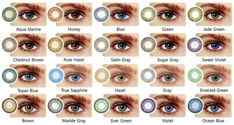 Common Eye Colors For by The Relationship Between Eye Color And Personality Traits