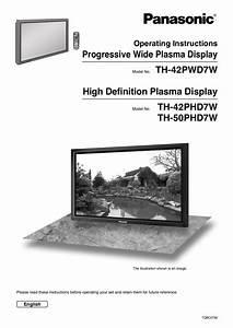 Download Free Pdf For Panasonic Viera Th