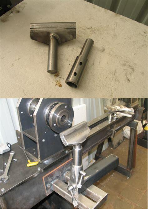 fabriquer un pied de le fabrication d un tour a bois page 15 usinages