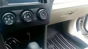 Subaru Xv Crosstrek Radio De-installation