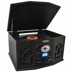 Radio Cd Kassette : pyle 3 speed home stereo mp3 cd cassette record player ~ Jslefanu.com Haus und Dekorationen