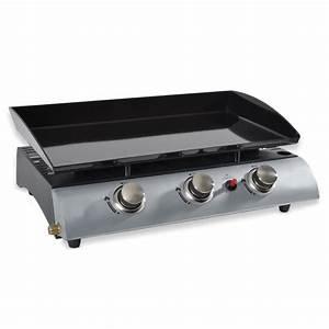 Plancha à Gaz : plancha gaz 3 br leurs kitchen chef grills lectriques ~ Dode.kayakingforconservation.com Idées de Décoration